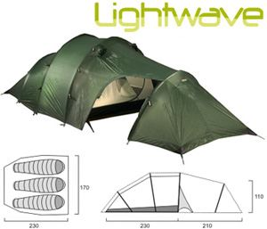 Tent for 2 and 3 people