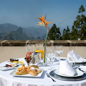 Restaurang, Parador Cruz de Tejeda, Gran Canaria, Signaturresor