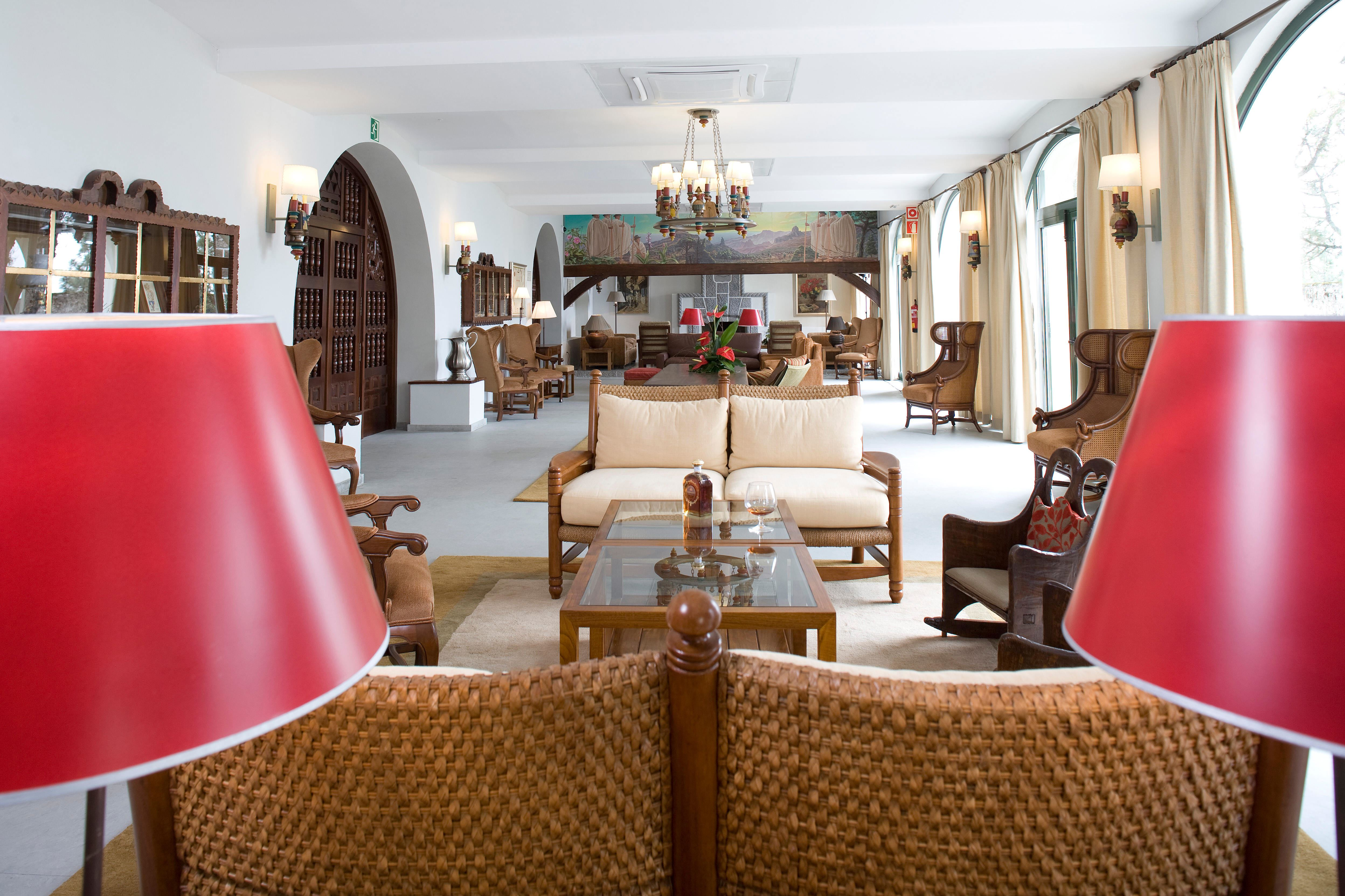 Lounge, Parador Cruz de Tejeda, Gran Canaria, Signaturresor