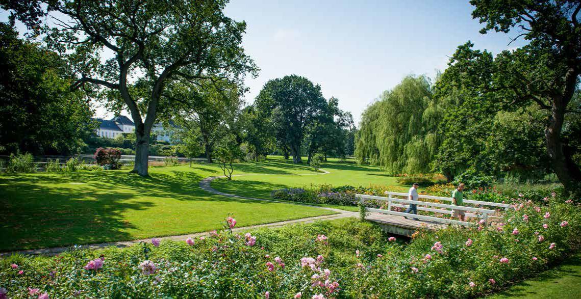 Führung durch den Gråsten Schlossgarten