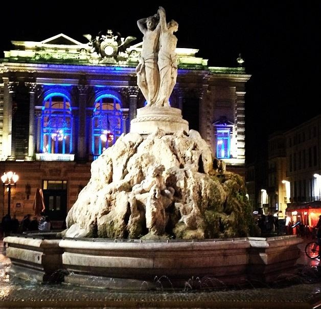 Montpellier by night with UrbanBike City Tour