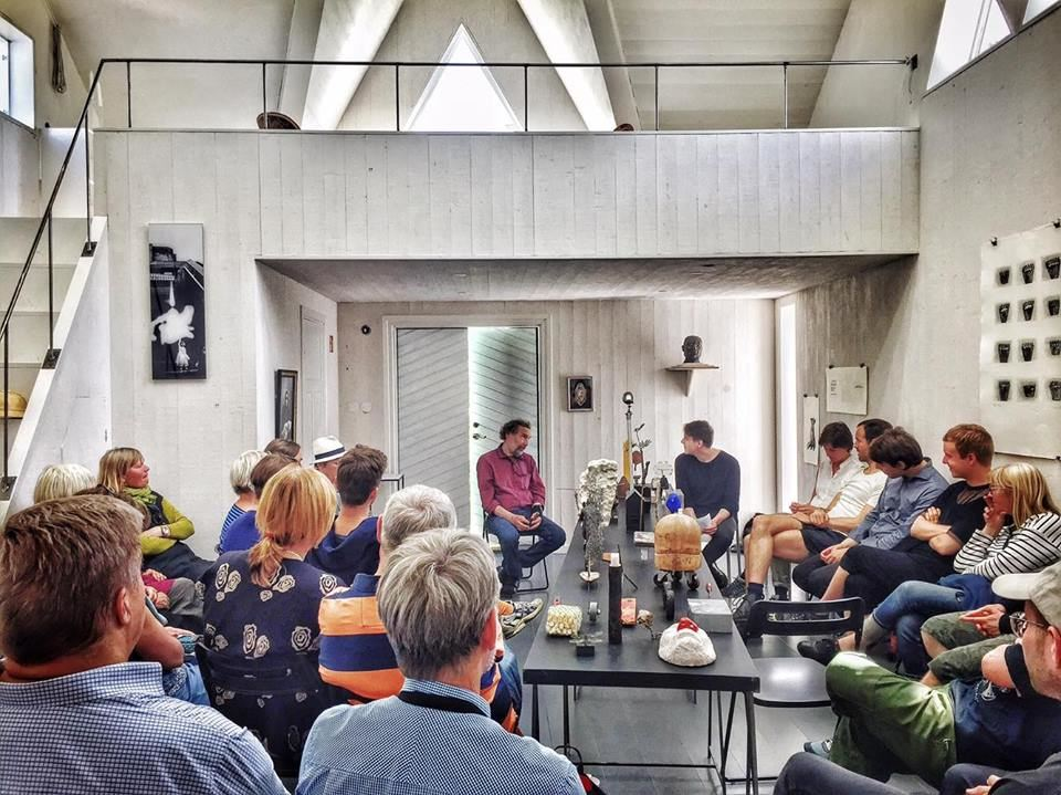 Krister Hägglund,  © Krister Hägglund, Konstsamtal i Utställning 9 juli - 21 augusti 2016