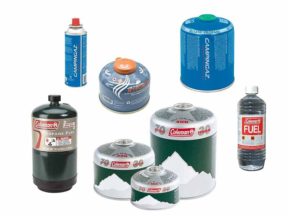 Gas cartridges, Red spirit and Primus fuel - SALE OFFER