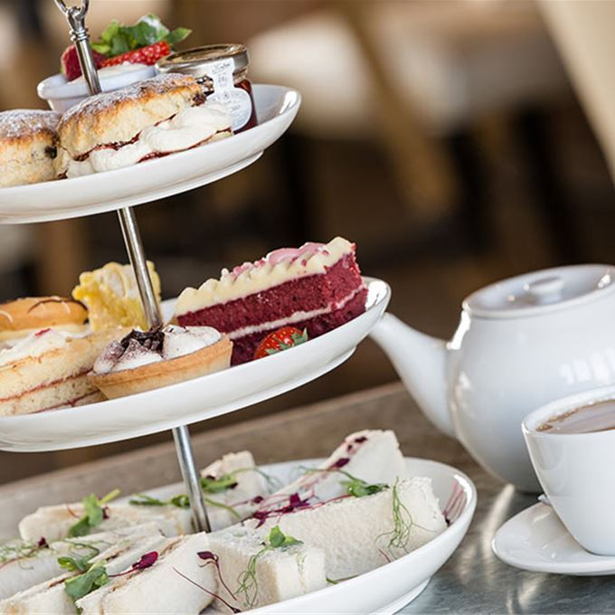 Afternoon tea at The Bell