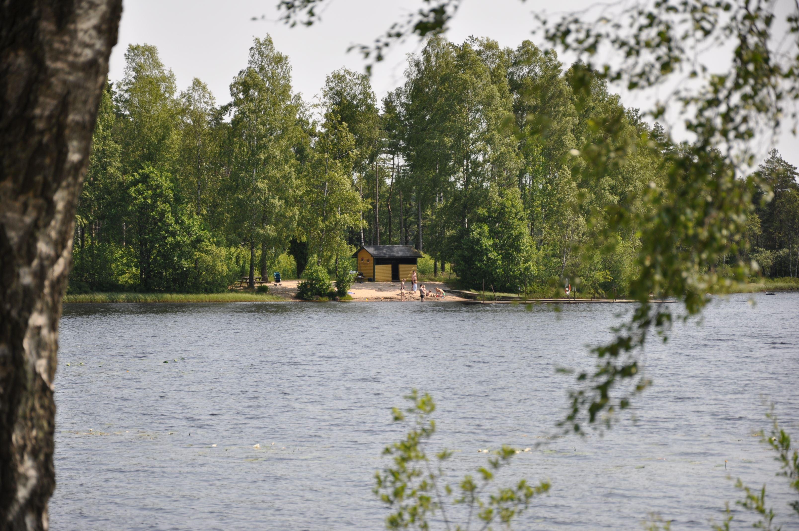 Badeplatz Vägla, Hallaryd