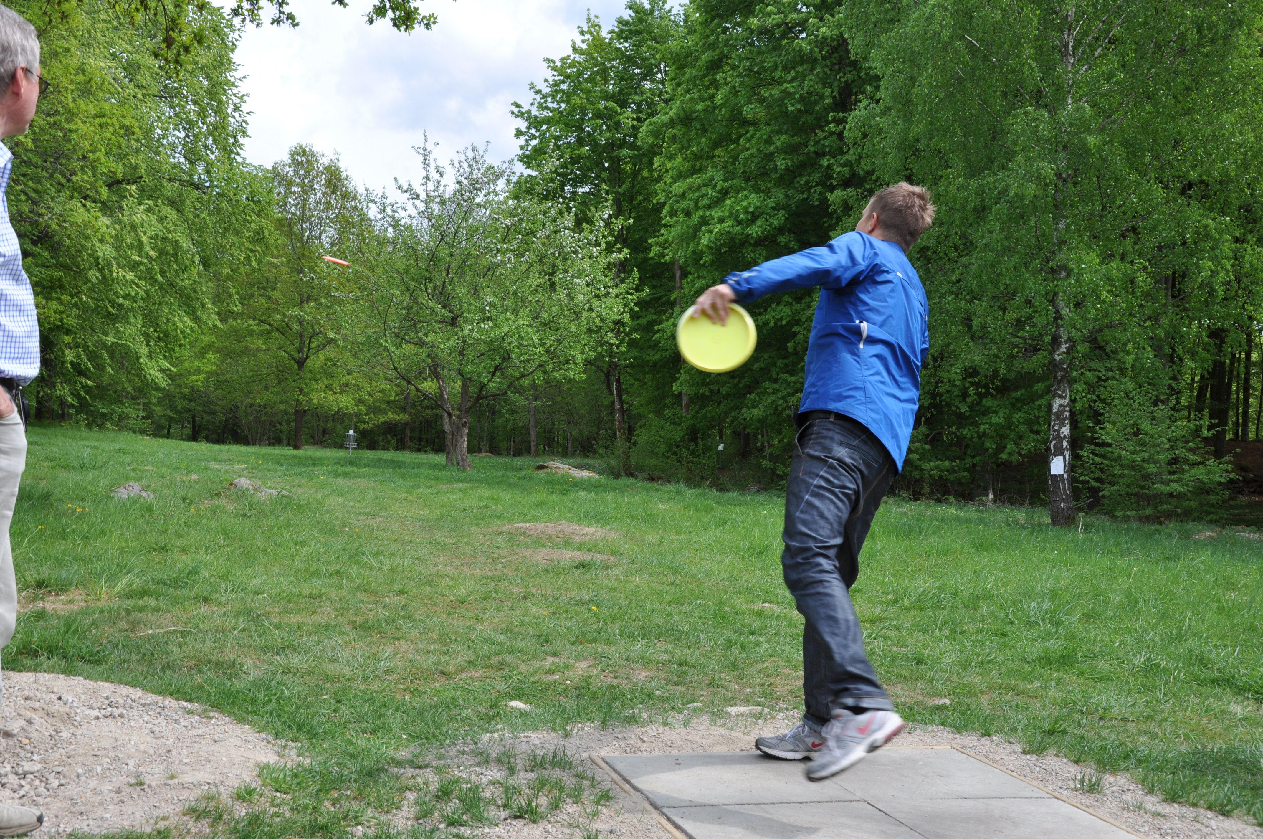 Disc-Golf, Haganäs, Älmhult