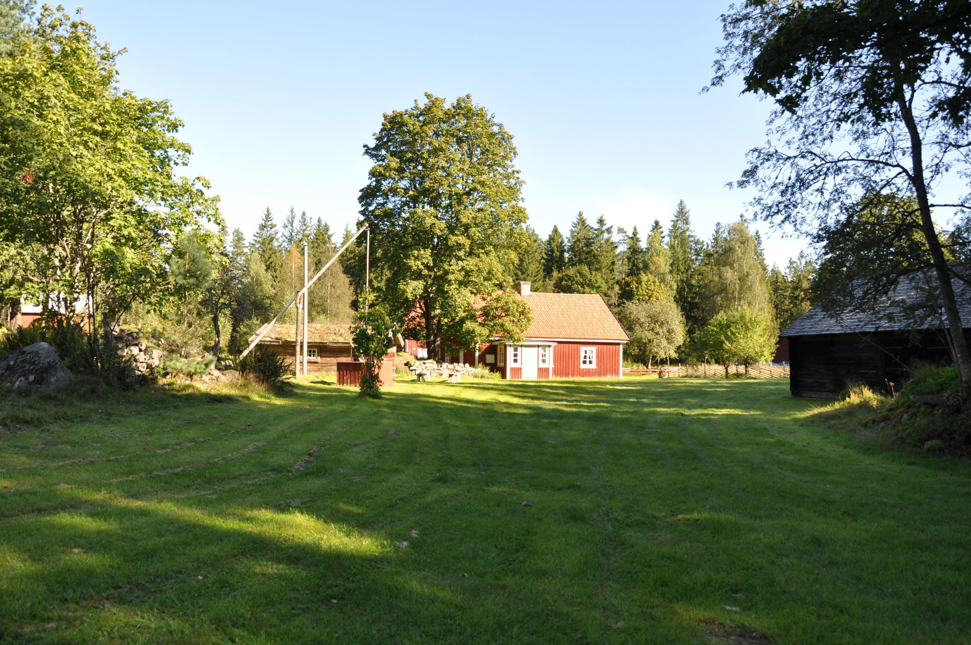 Hembygdsparken i Krampanäs, Häradsbäck