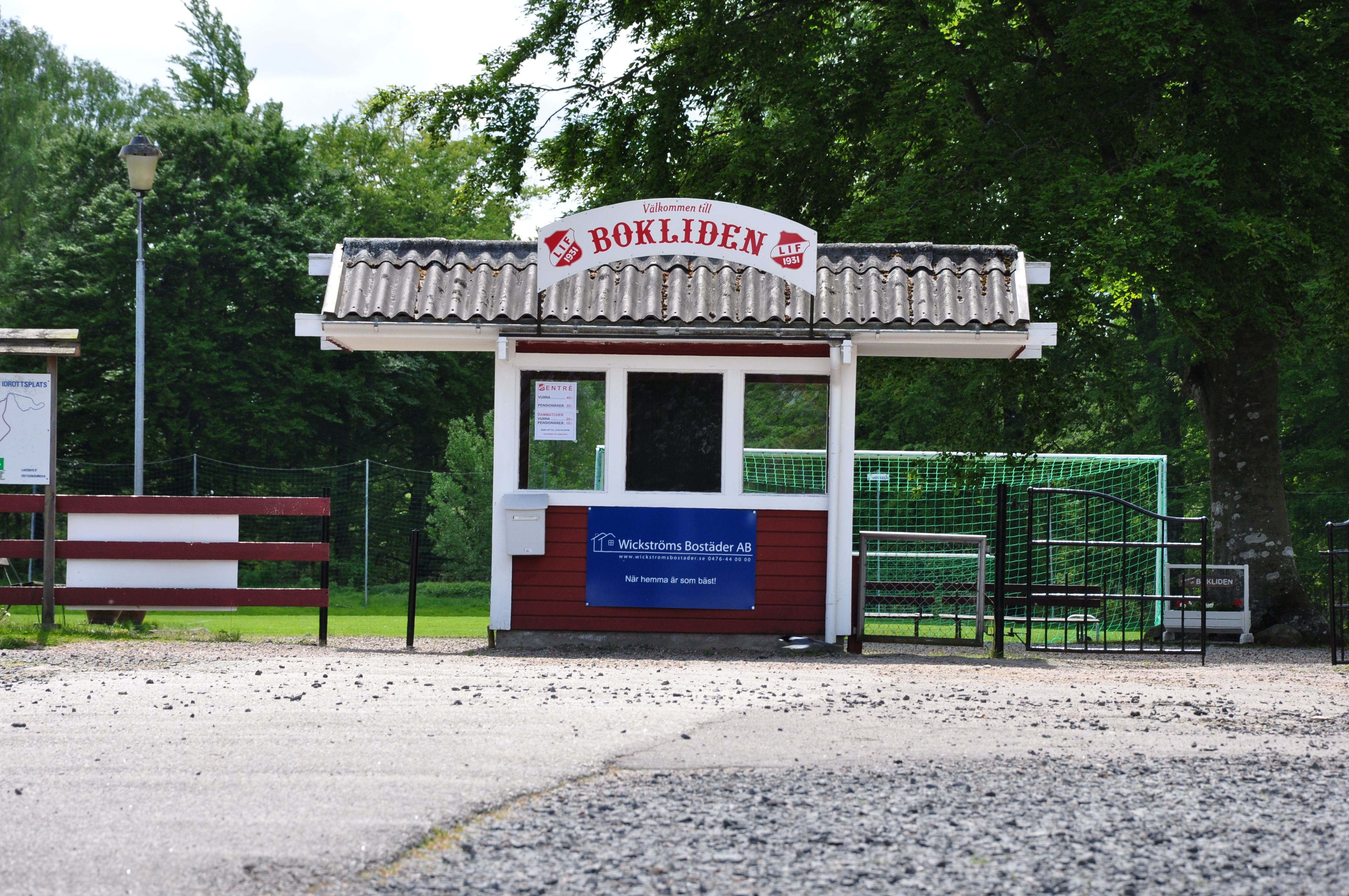 Sportplatz, Bokliden, Liatorp