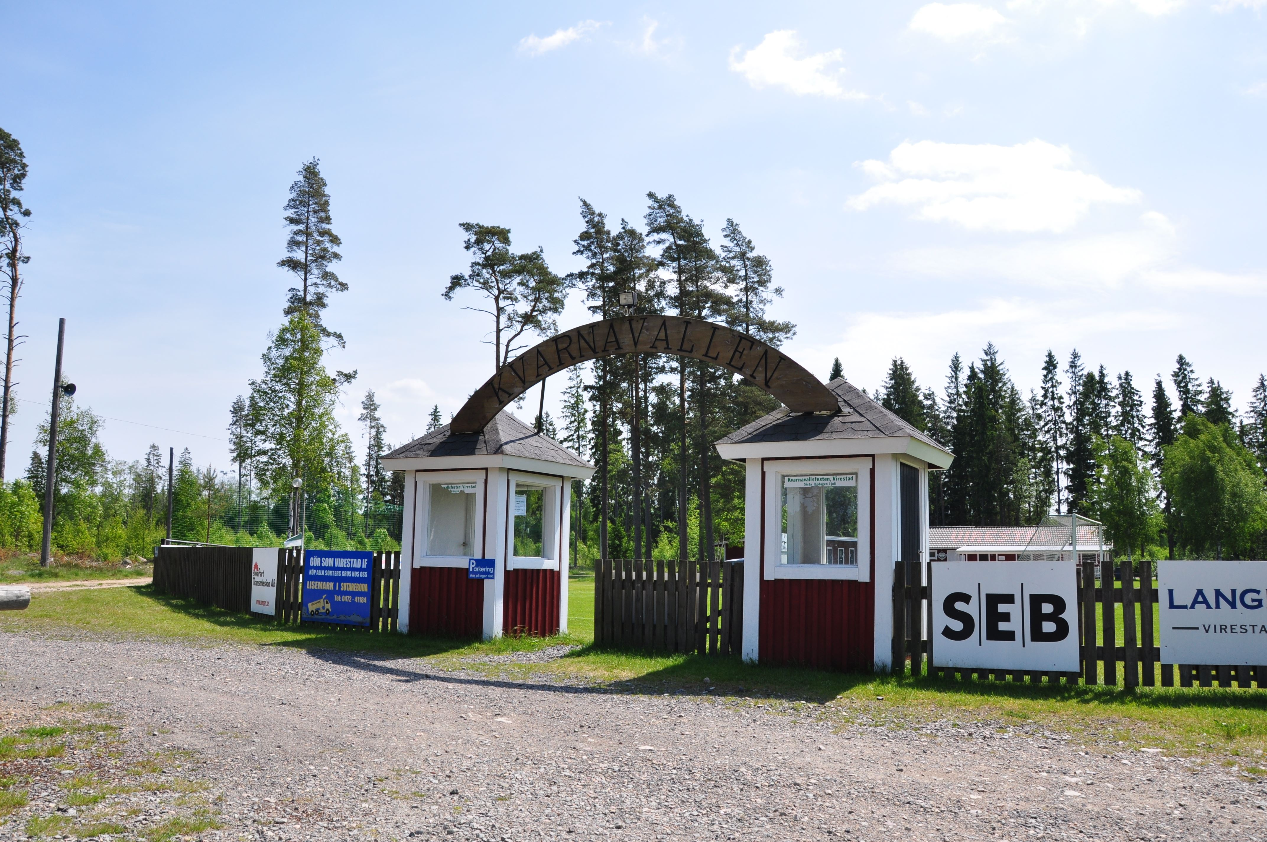 Idrottsplats, Kvarnavallen, Virestad