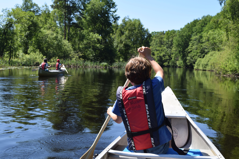 Canoe rental - Sjöstugans camping