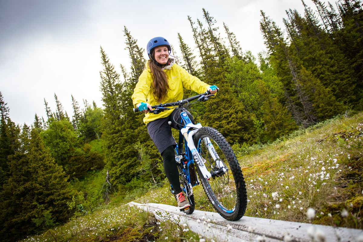 Rent a mountain bike and ride cross country