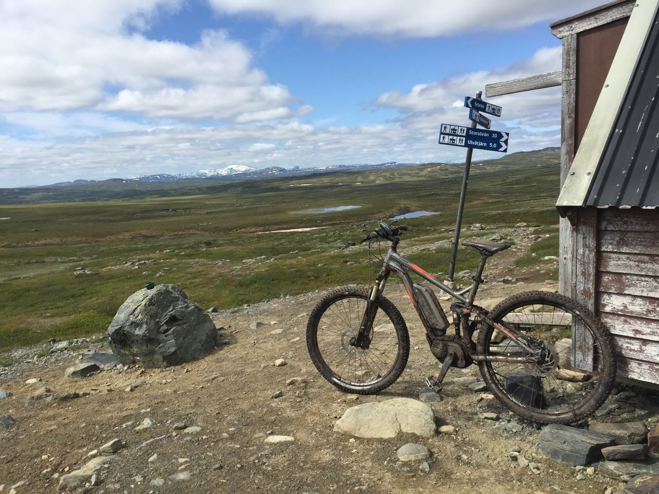Rent electric mountain bike and get help up the hills