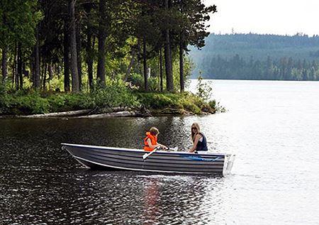 Hyr båt på Åresjön