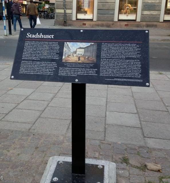 Historiska skyltar