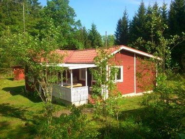 Ferienhaus 13 - Röda stugan - Kalvshults fritidsstugor - Benny Andersson