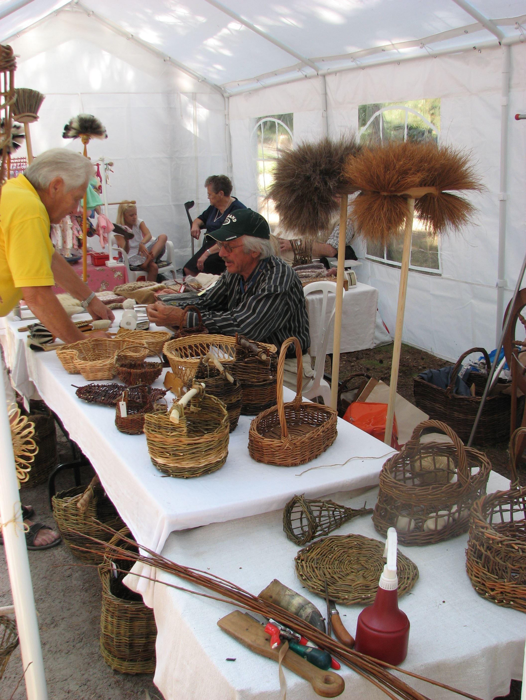 Handicrafts day at Ängelholms Homestead Park