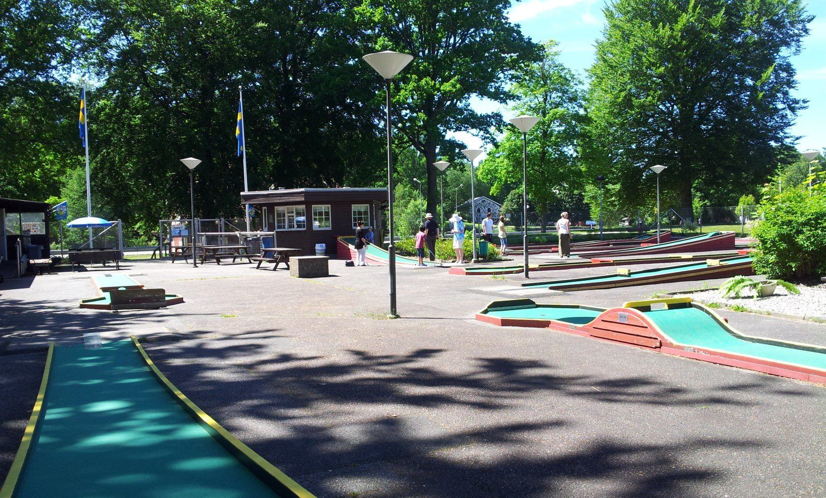 Gert Svensson, Mini Golf Course Outdoor