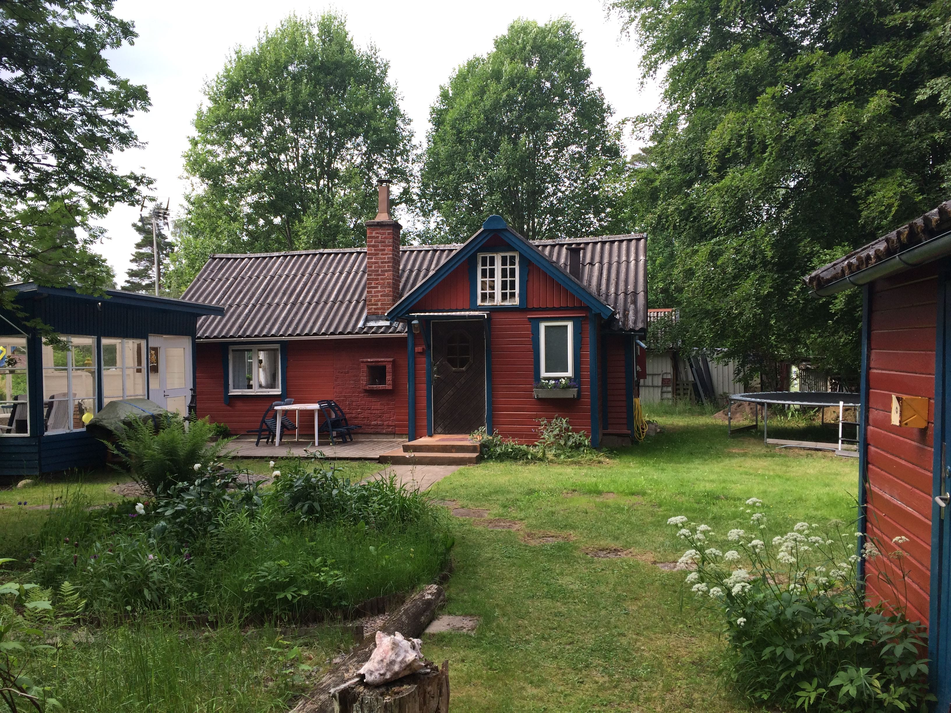 Cosy cottage with large garden in Furusjö