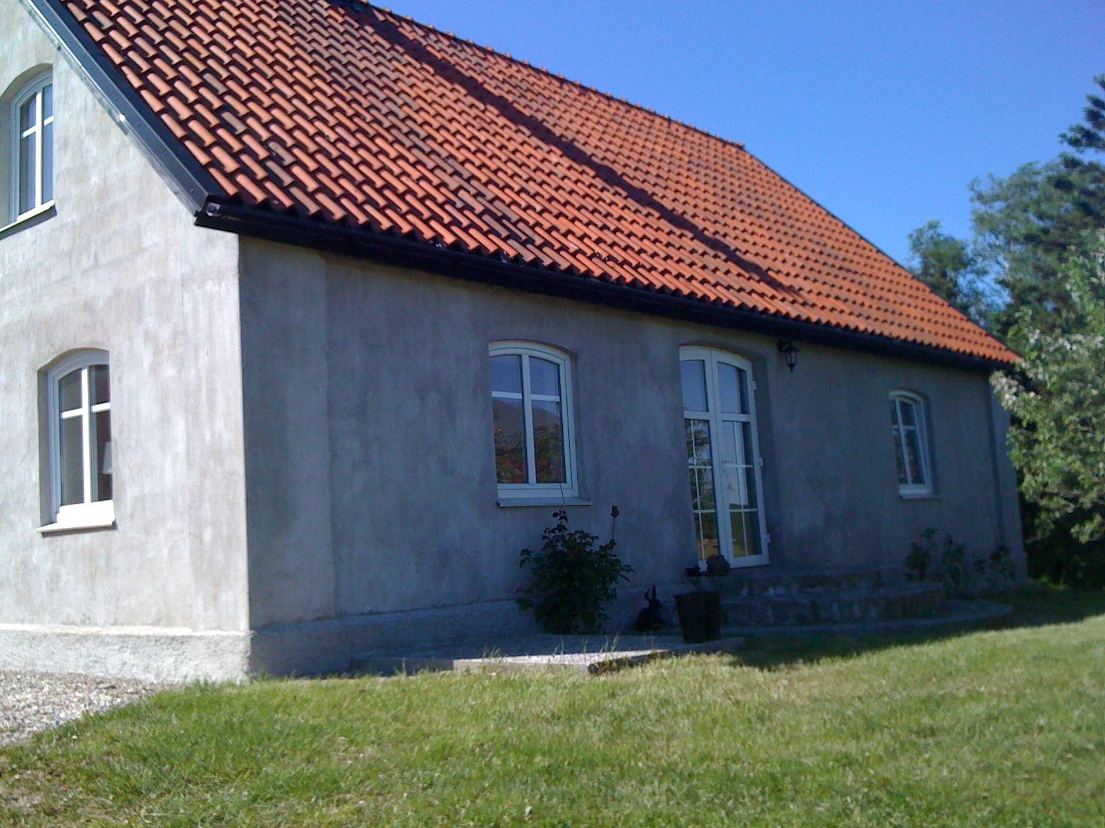 Hus i Anderslöv på Sydkusten