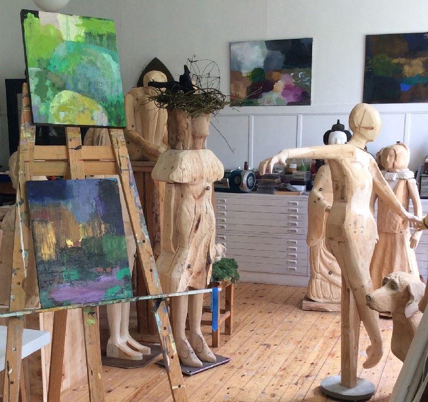 Konstverkarna