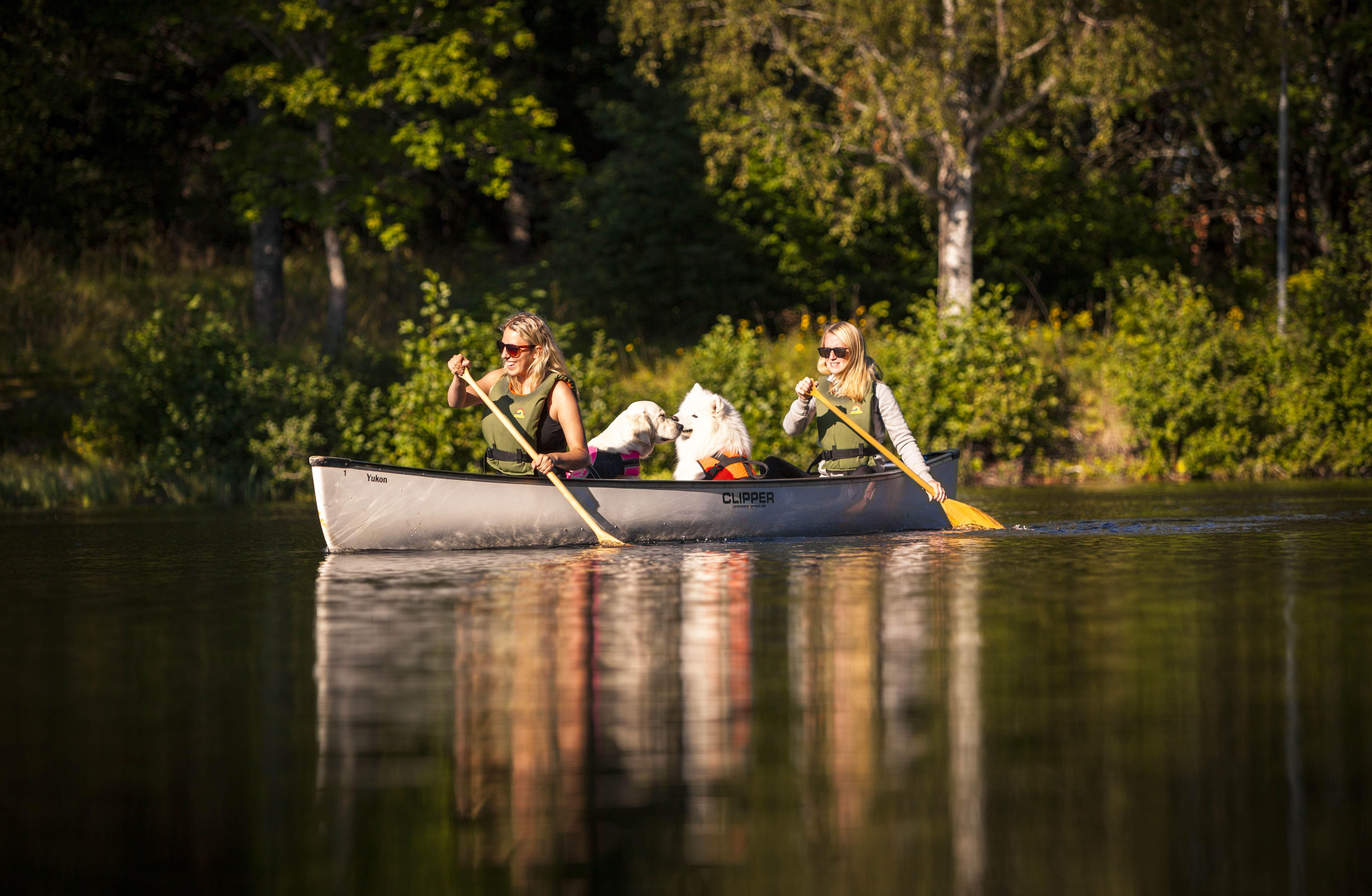 The Nordanstig Canoe Route