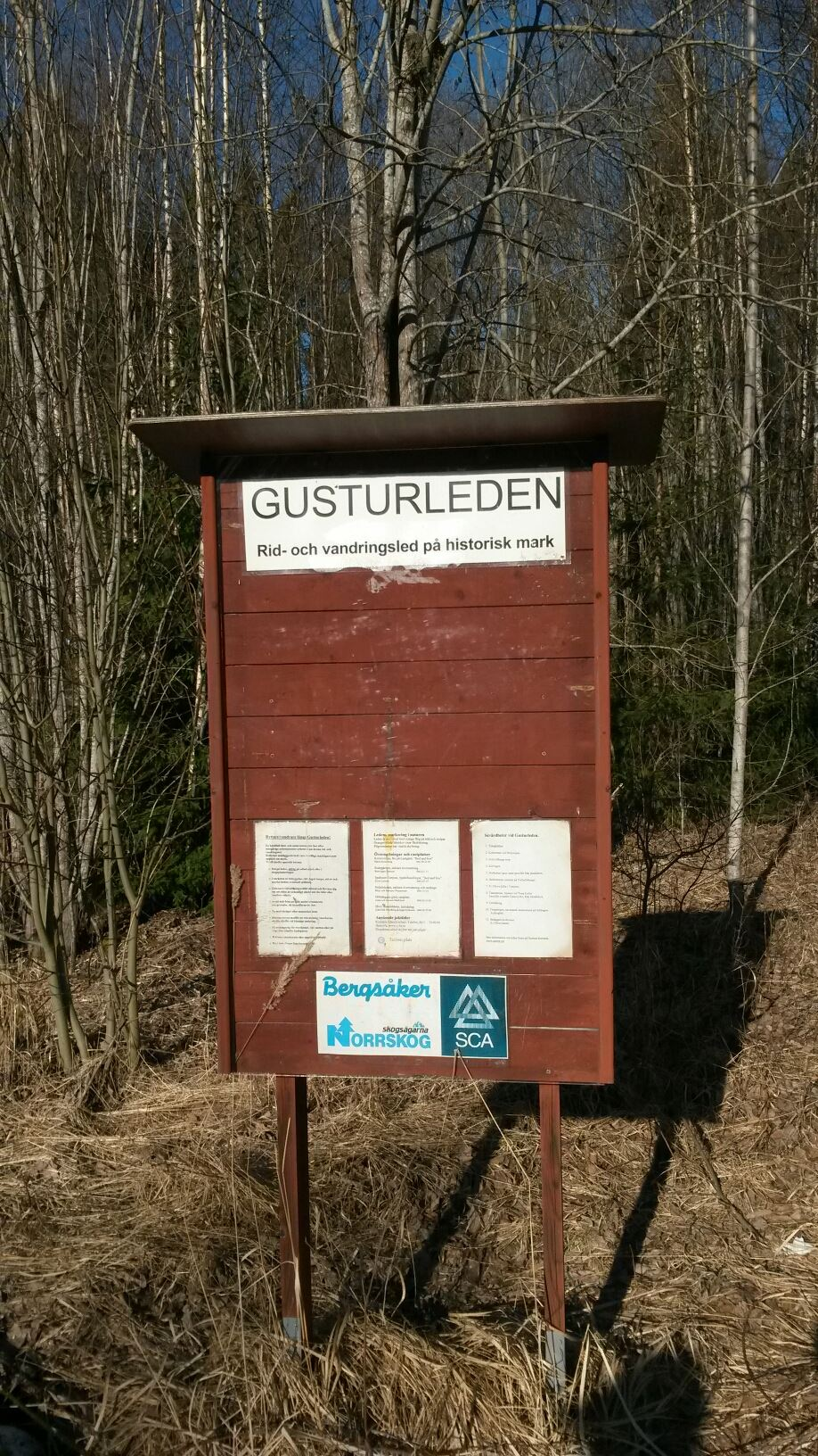 The Gusturleden Trail