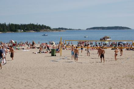 Badplatser i Sundsvall
