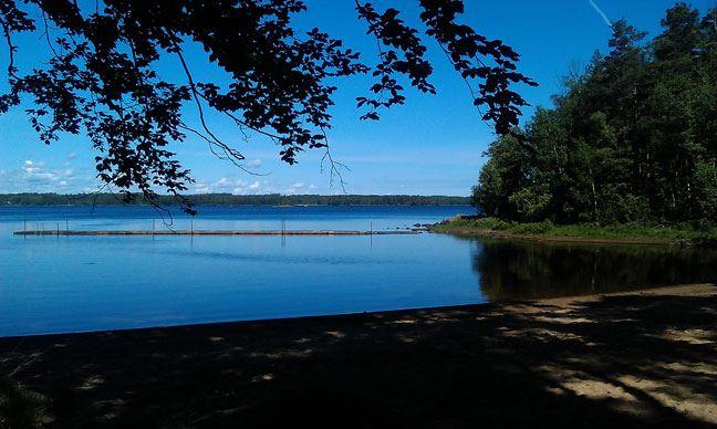 Badplats, Ramnäs, Göteryd