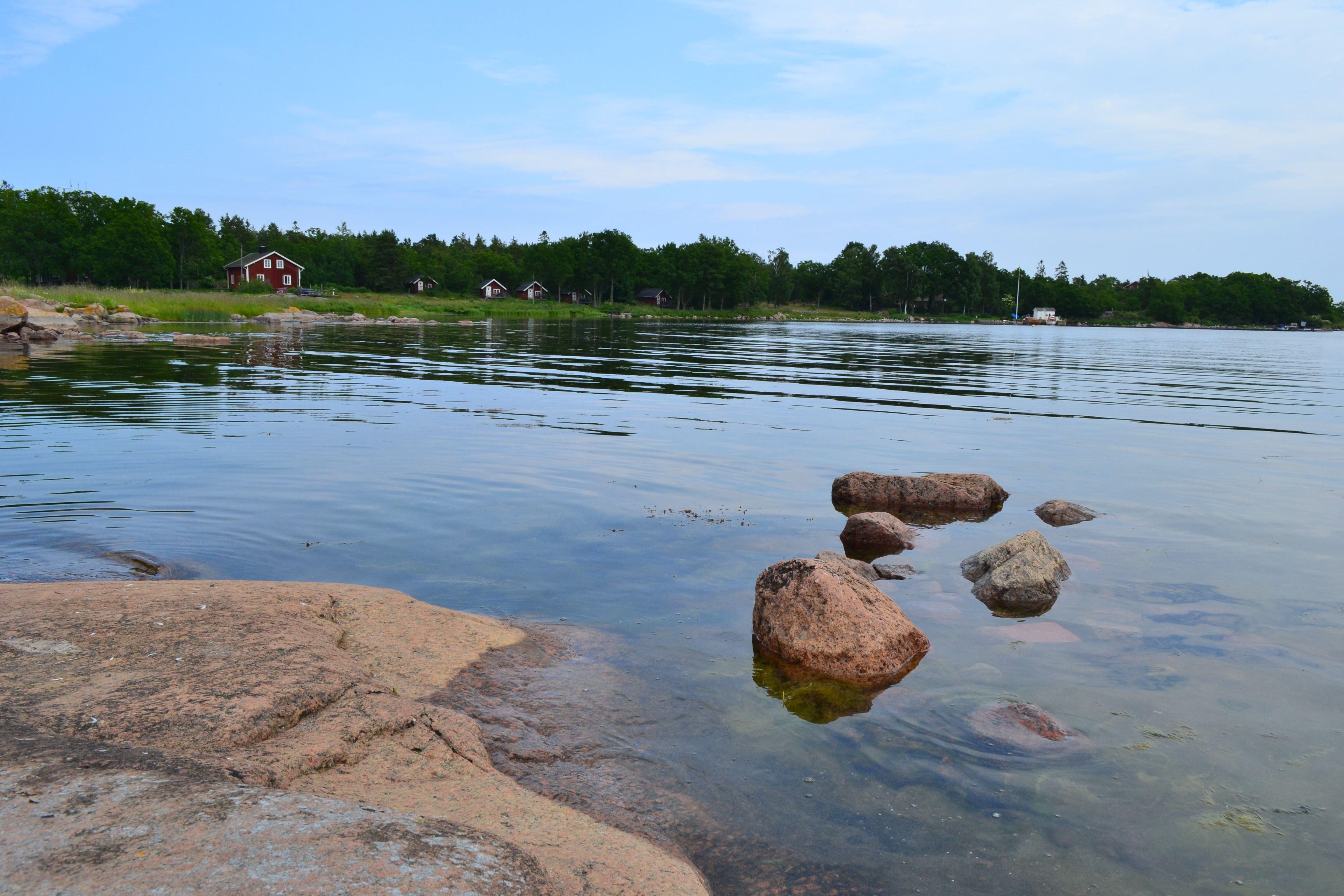 Öar och Naturhamnar