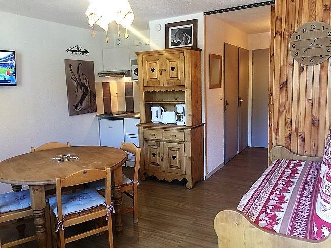 Studio 4 Pers skis aux pieds / SKI SOLEIL 2309