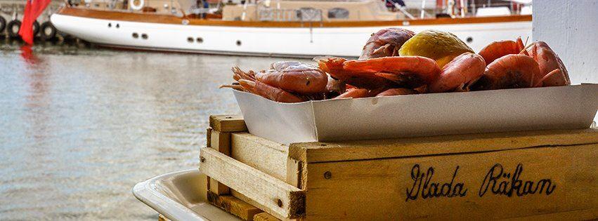 Restaurant båd Glade Shrimp (Glada Räkan)