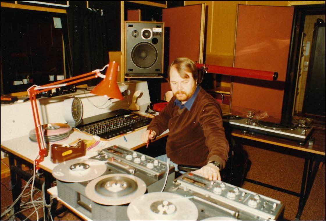 Radiomuseum på Älmhults bibliotek