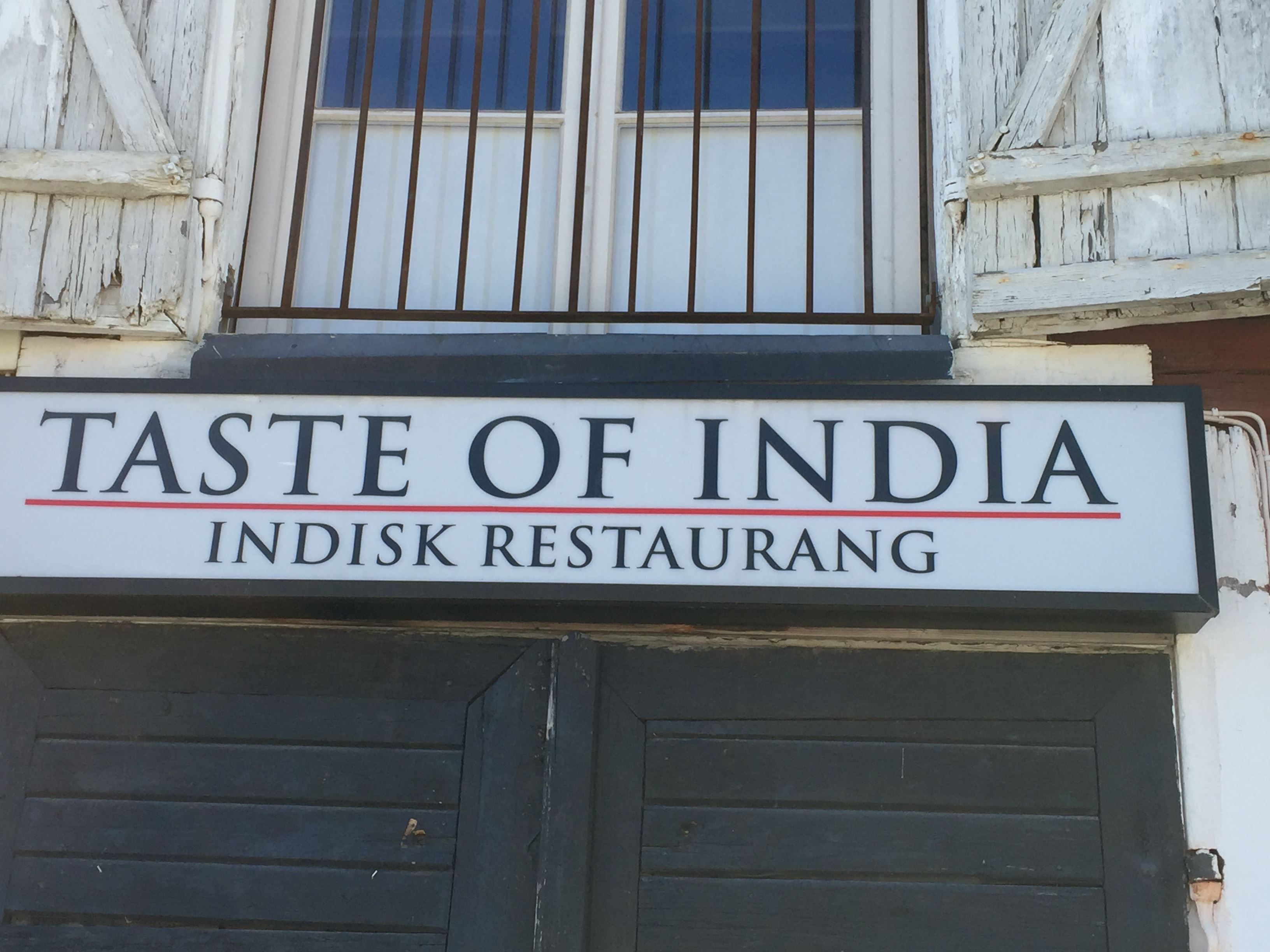 Taste of India - Sea Street Sushi Bar