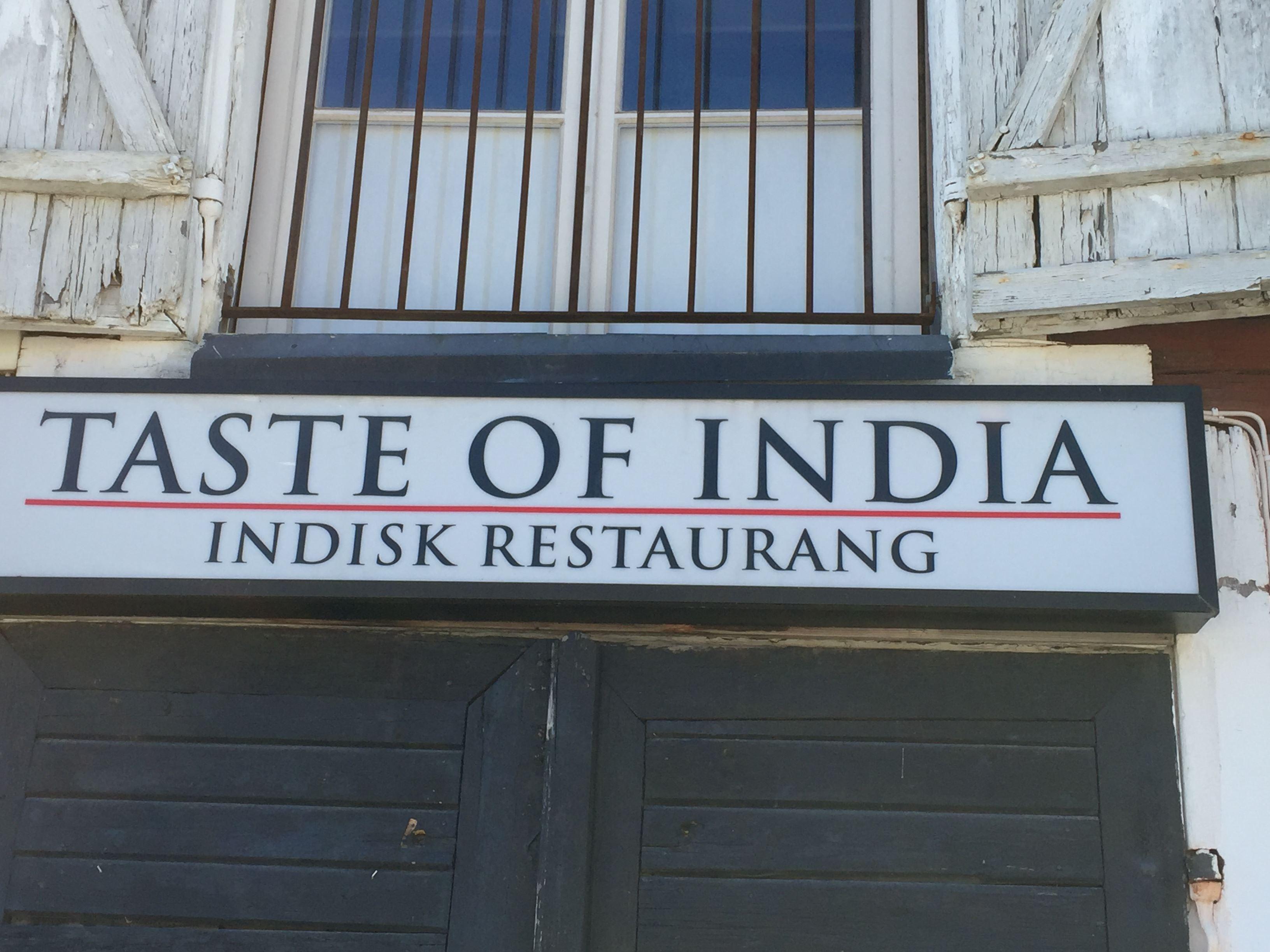 Taste of India - Sea Street Sushi Bar