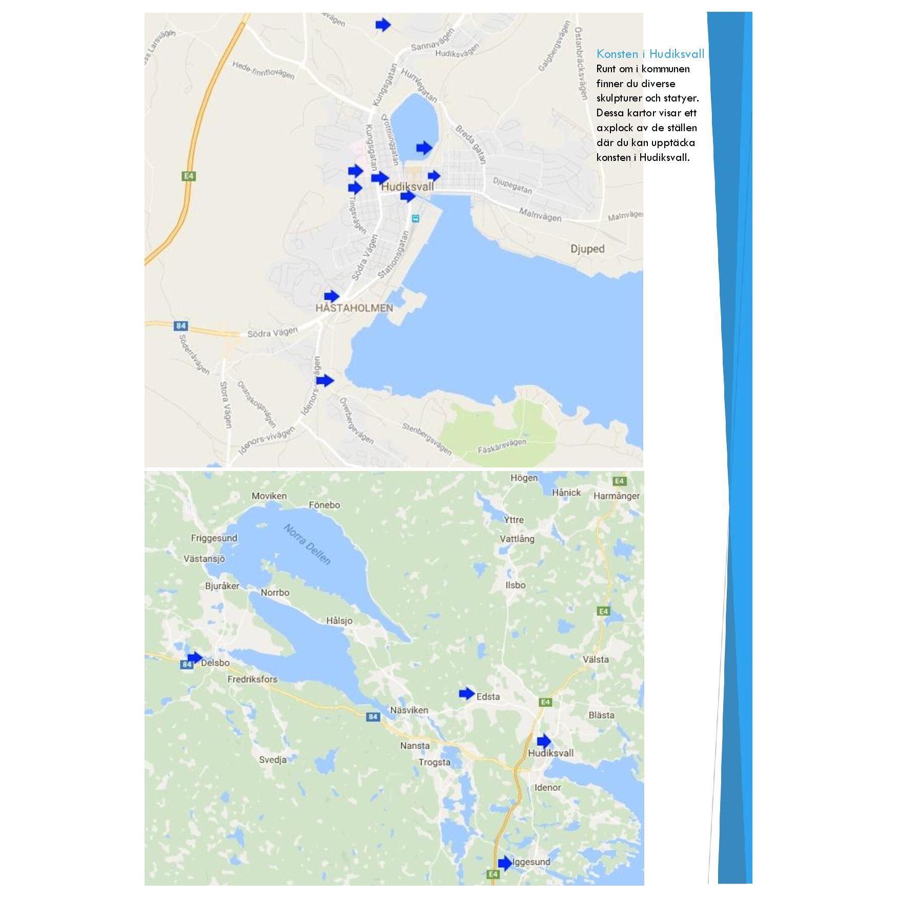 Upptäck konsten i Hudiksvall