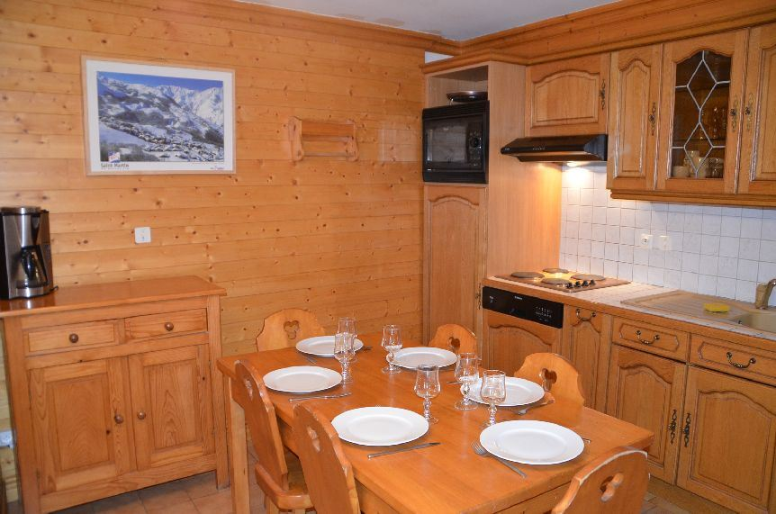 3 Rooms 4 Pers ski-in-ski-out / La Voute 2