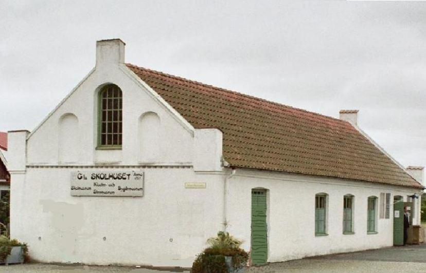 Tommarps Museer - Gamla skolhuset vid kyrkan