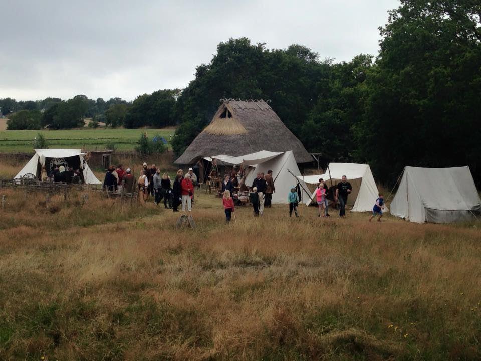Valshall's Viking market