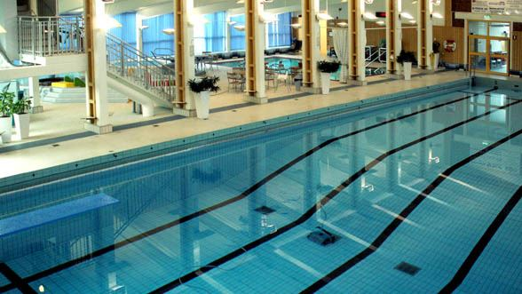 Indoor swimming pool Hannabadet Markaryd