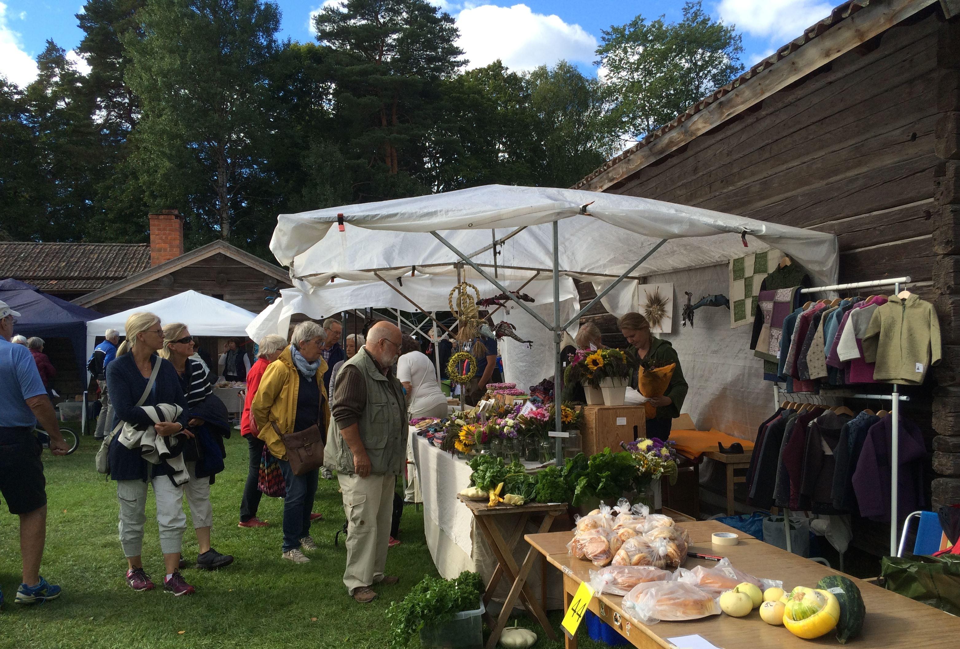 Farmer's Market in Leksand