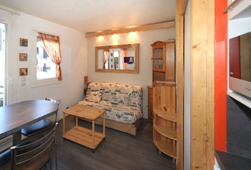 4 Pers Studio cabin ski-in ski-out / GENTIANES 223
