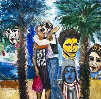 Tonie Roos målningar 1973-2016