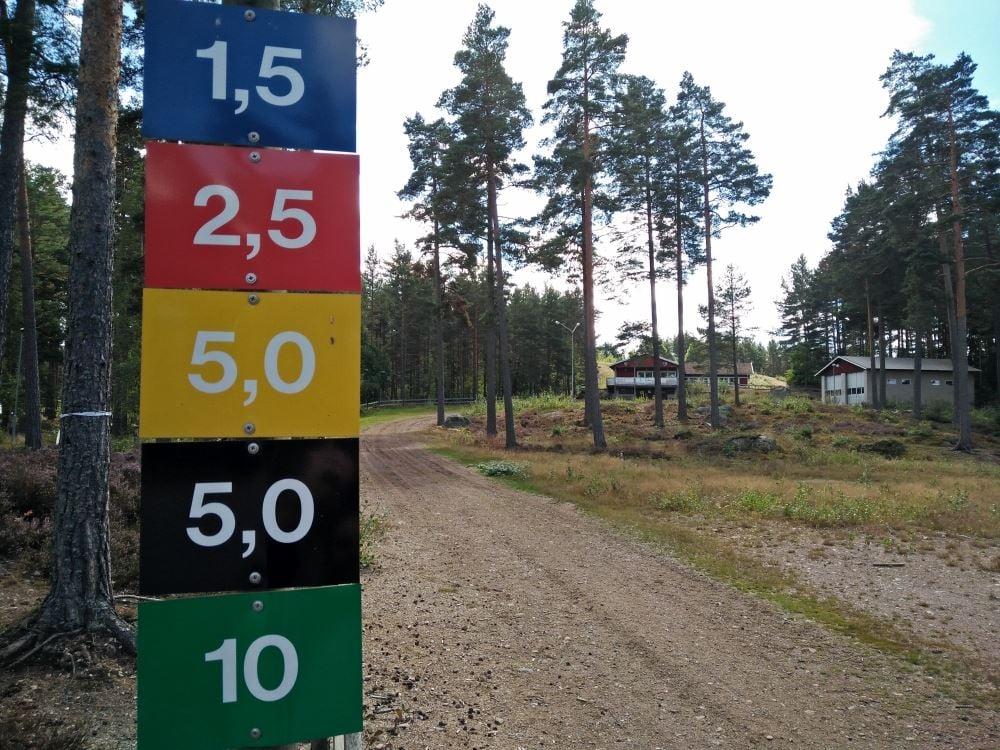 Svartbäcksmåla aktivitetsområde
