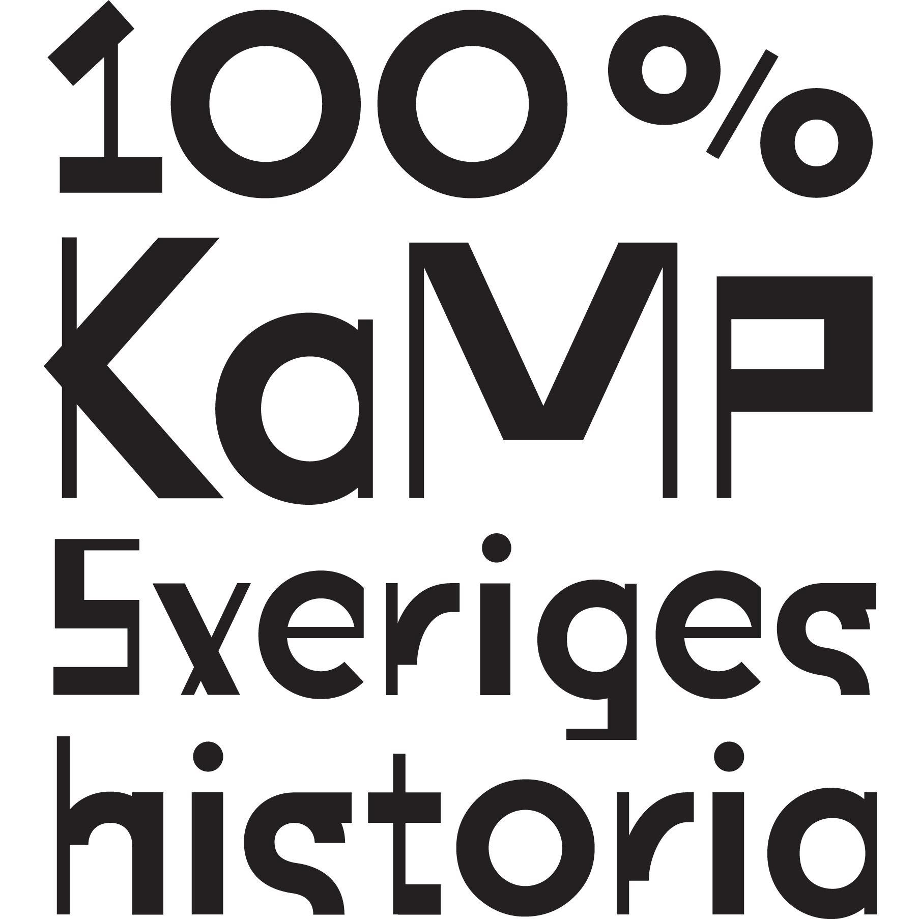 100 % kamp – Sveriges historia