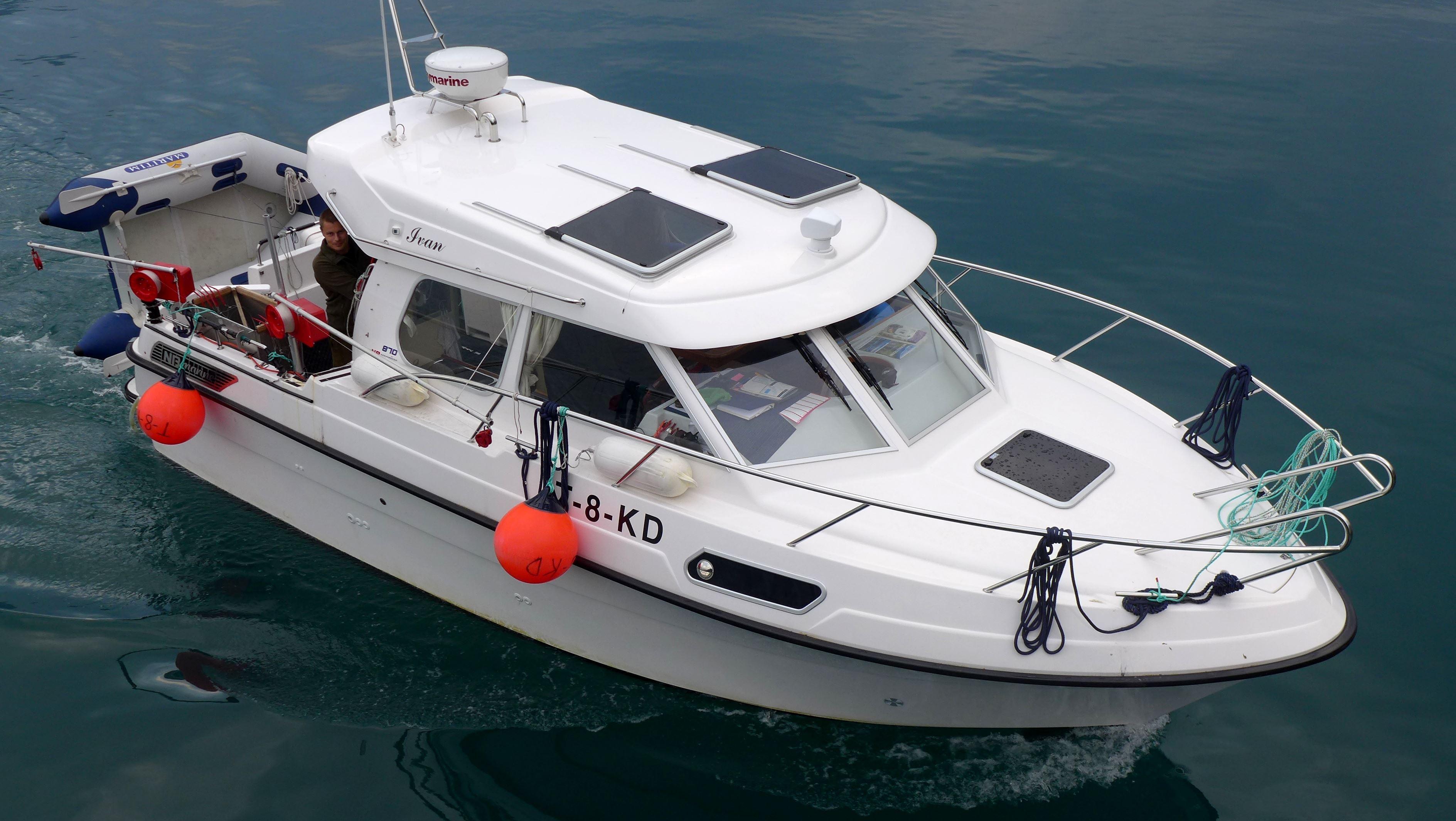 Båttransport - ski og vandring