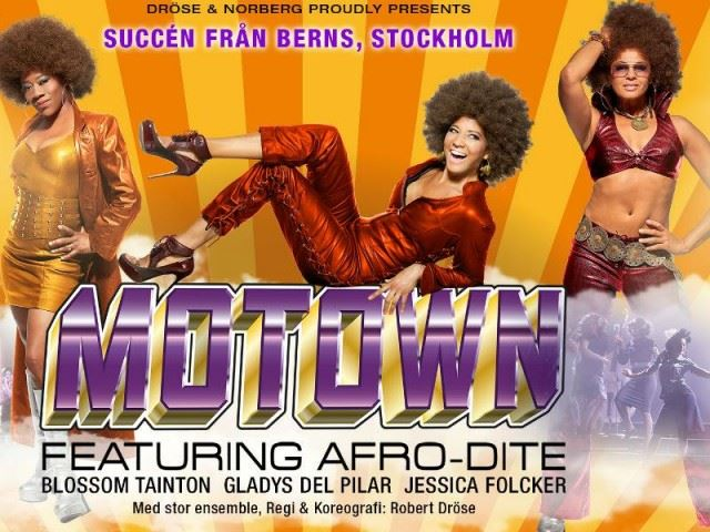 Musikshow: The Music of Motown featuring Afro-Dite på Alandica