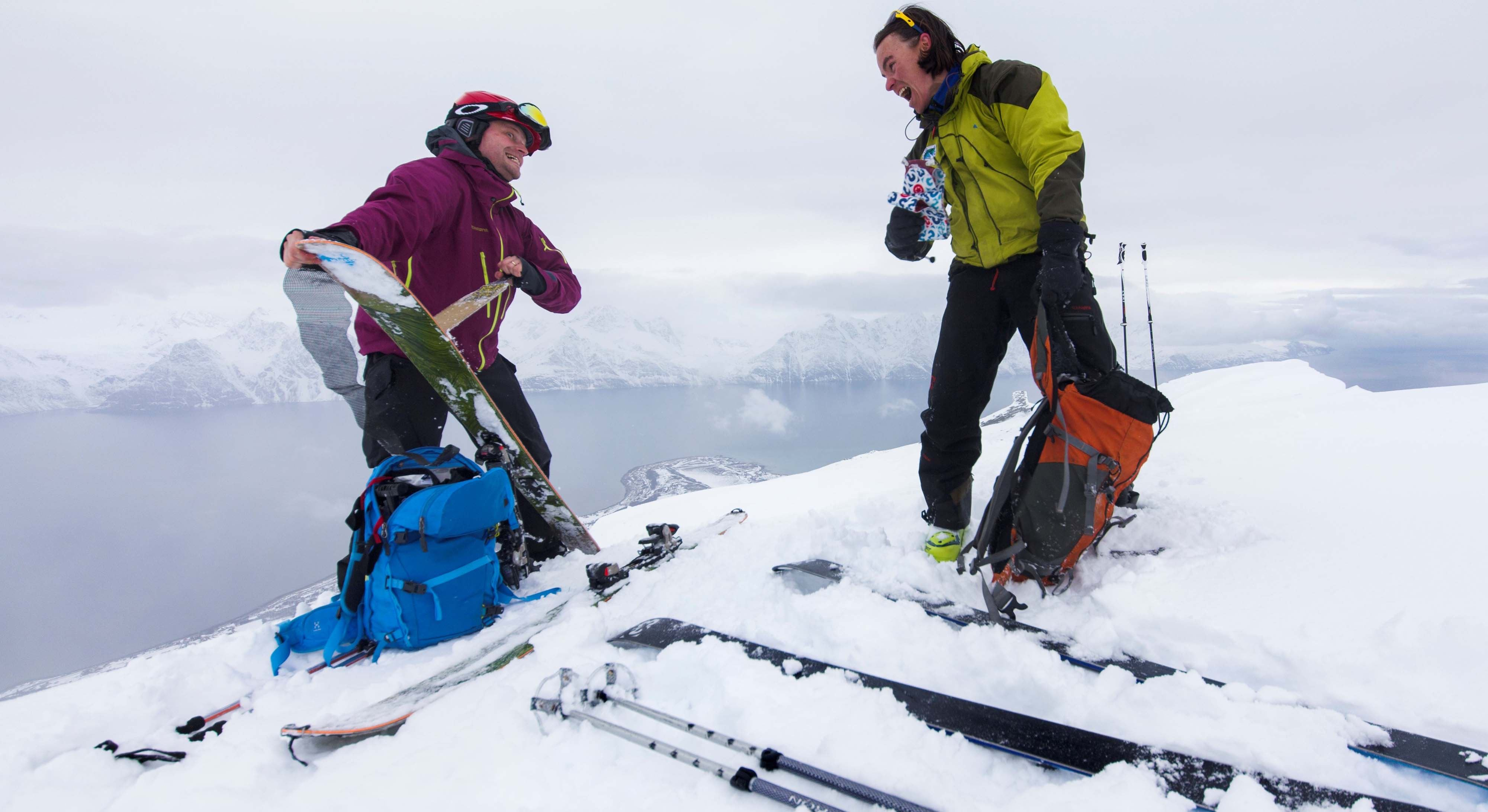 Skiguiding in the Lyngen Alps