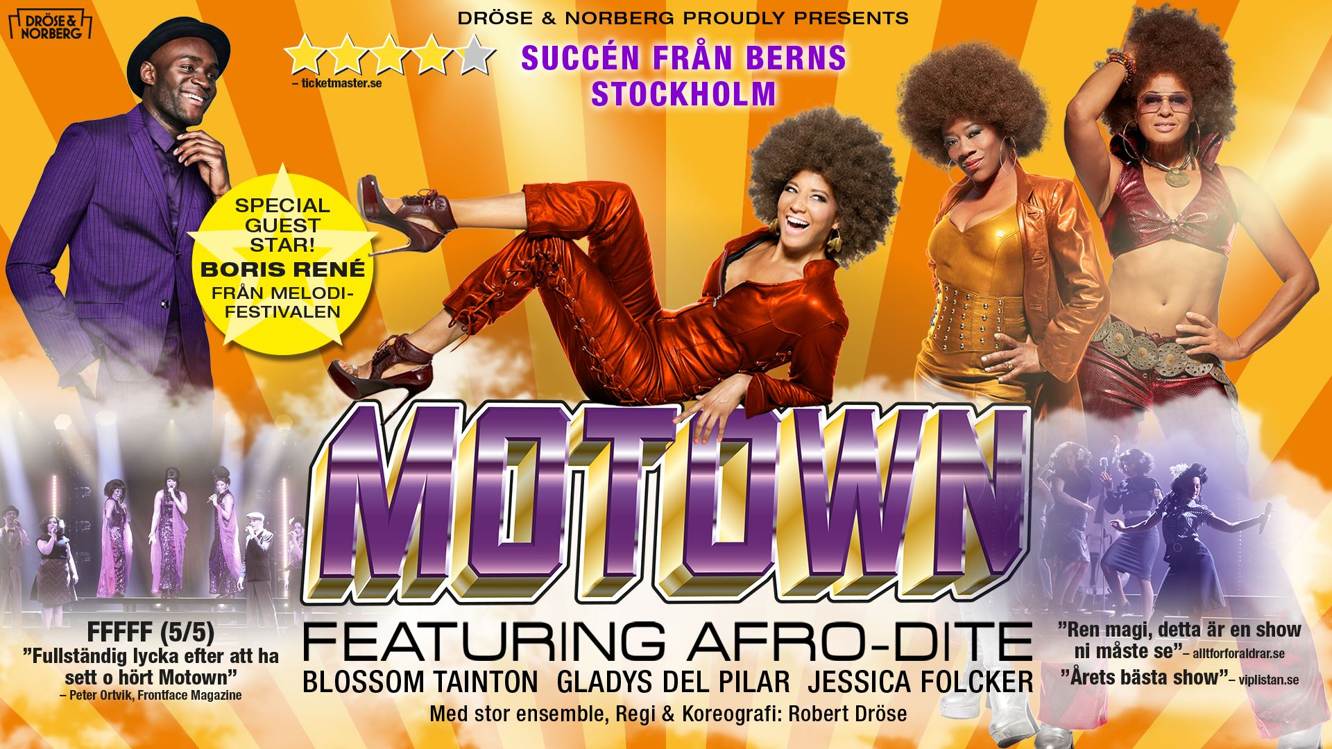 Show - THE MUSIC OF MOTOWN FEATURING AFRO-DITE