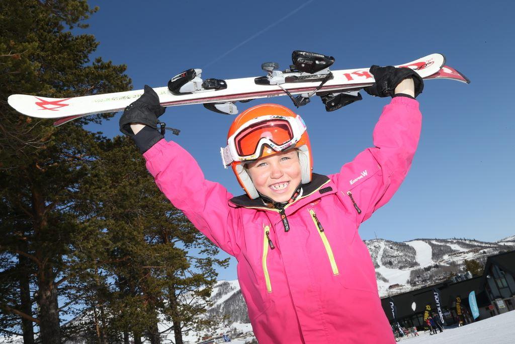 Kidz ski race in Havsdalen
