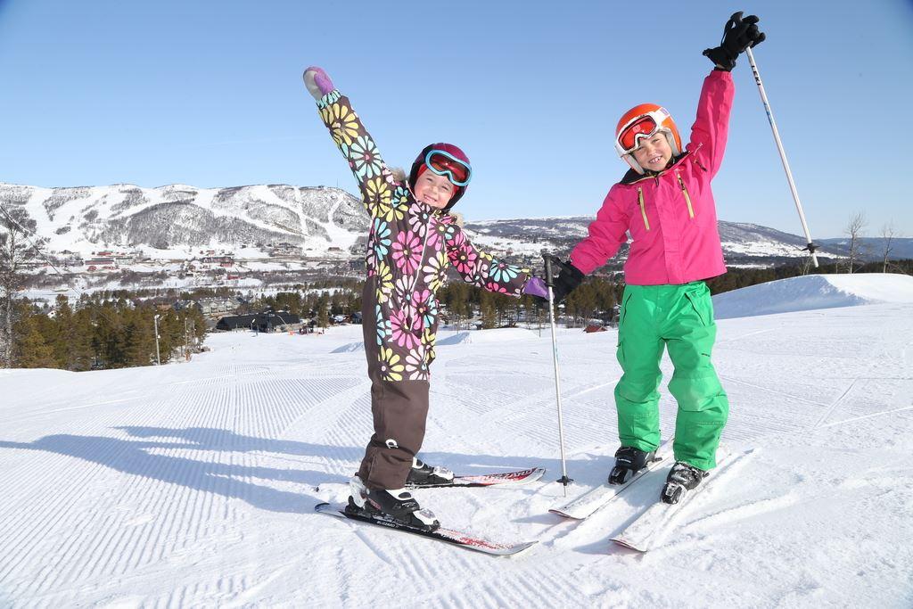 Kidz ski race in Vestlia